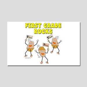 First Grade Rocks Car Magnet 20 x 12