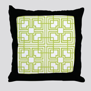 Classic Geometric Pattern Throw Pillow