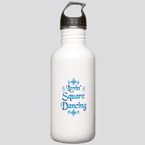 Lovin Square Dancing Stainless Water Bottle 1.0L