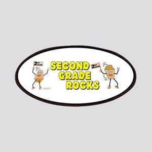 Second Grade Rocks Patches
