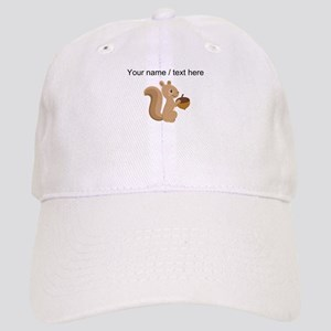 Custom Cartoon Squirrel Baseball Cap