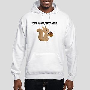 Custom Cartoon Squirrel Hoodie