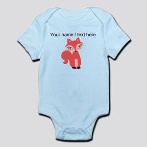 Custom Cartoon Red Fox Body Suit