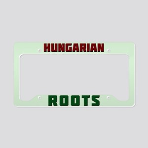 American Hungarian Roots License Plate Holder