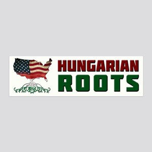 American Hungarian Roots Wall Decal