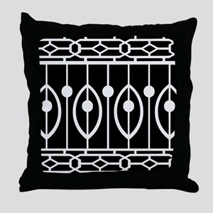 Trendy Modern Morocan Pattern Throw Pillow