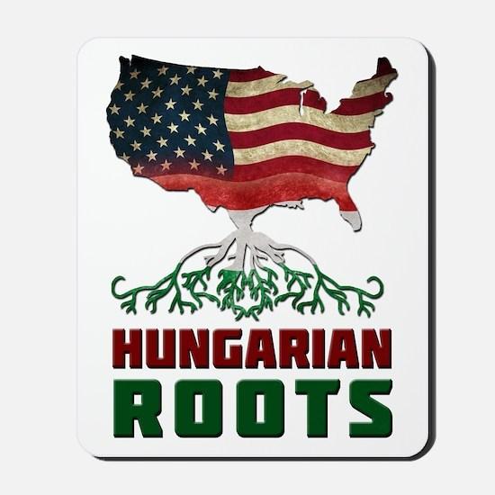 American Hungarian Roots Mousepad