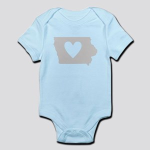 Heart Iowa Infant Bodysuit