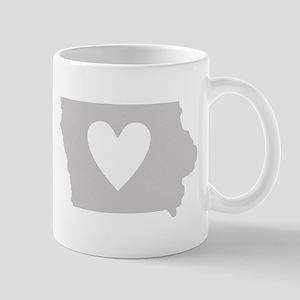 Heart Iowa Mug
