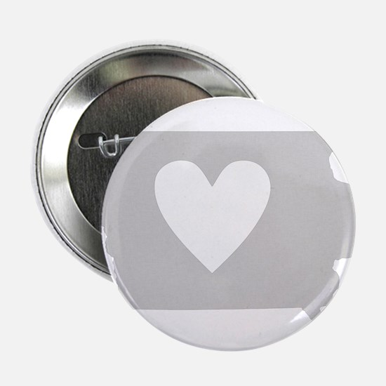 "Heart Iowa 2.25"" Button"