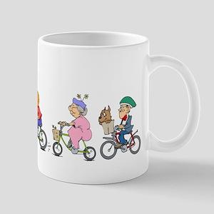 Bicycle Parade Mug
