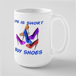 Buy Shoes Large Mug