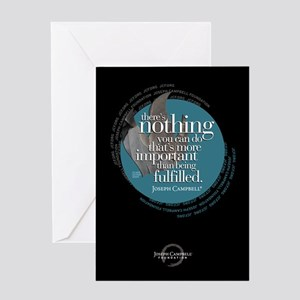 """""""Being Fulfilled"""" Greeting Card"""
