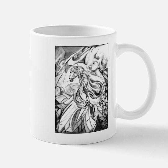 Winged Horse Fantasy Art Mug