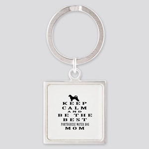Keep Calm Portuguese Water Dog Designs Square Keyc