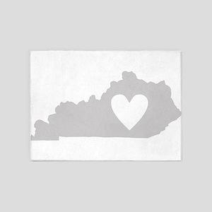 Heart Kentucky 5'x7'Area Rug