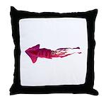 Humboldt Squid f Throw Pillow