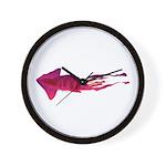 Humboldt Squid f Wall Clock