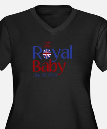 The Royal Baby Birthdate Souvenir Women's Plus Siz
