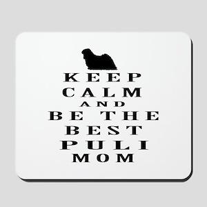 Keep Calm Puli Designs Mousepad