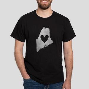Heart Maine Dark T-Shirt