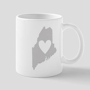 Heart Maine Mug