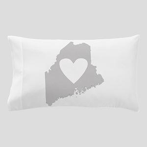 Heart Maine Pillow Case