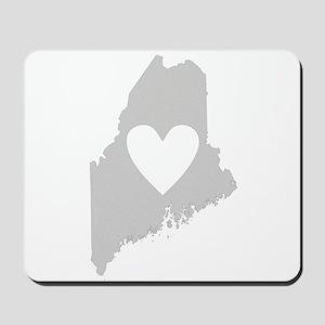 Heart Maine Mousepad
