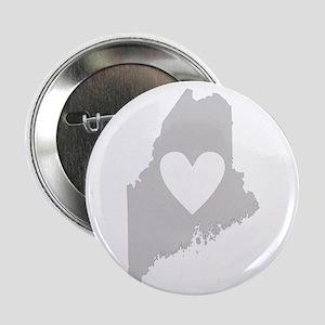 "Heart Maine 2.25"" Button"
