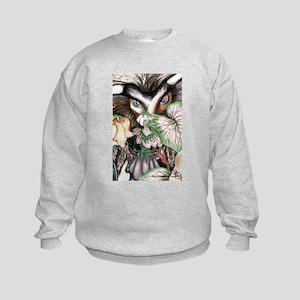 Nephilim Dragon Fantasy Art Kids Sweatshirt