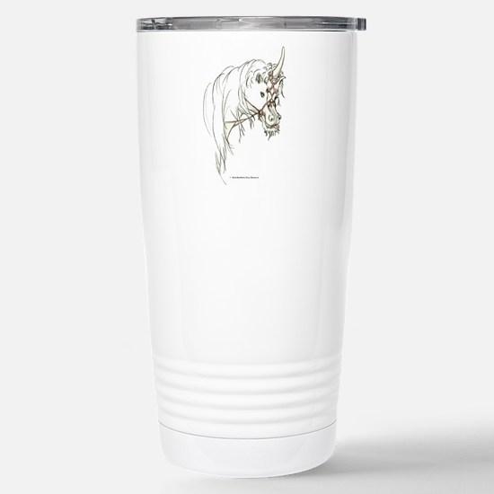 Unicorn Mischief Stainless Steel Travel Mug