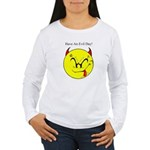Satanic Smiley Face Women's Long Sleeve T-Shirt