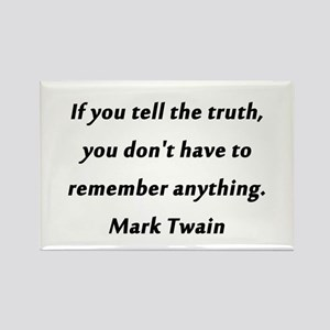Twain On Truth Magnets