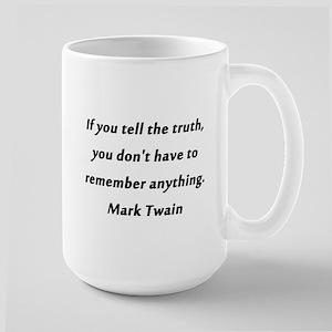 Twain On Truth Mugs