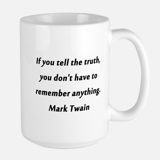 Twain On Truth Mugs