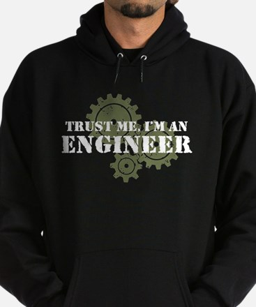 Trust Me I'm An Engineer Hoodie (dark)