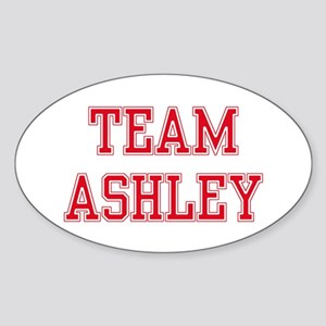 TEAM ASHLEIGH Oval Sticker