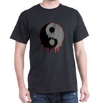 Blood Drip Ying Yang Dark T-Shirt