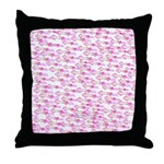 School of Silly Squid s Throw Pillow