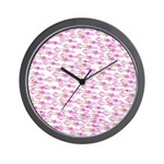 School of Silly Squid s Wall Clock