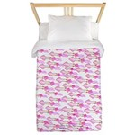 School of Silly Squid s Twin Duvet