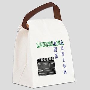 louisiana film w slate Canvas Lunch Bag