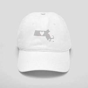 Heart Massachusetts Cap