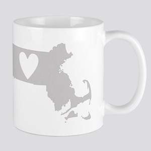 Heart Massachusetts Mug