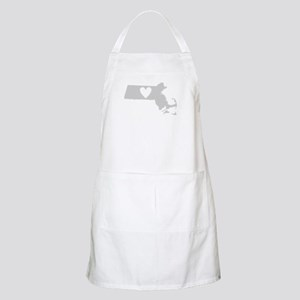 Heart Massachusetts Apron