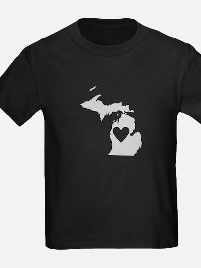 Heart Michigan T