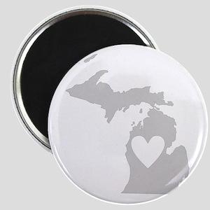 Heart Michigan Magnet