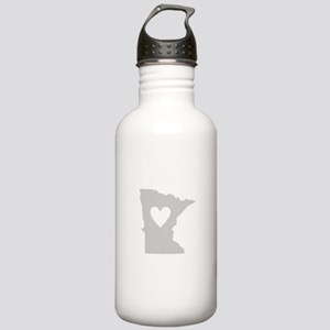 Heart Minnesota Stainless Water Bottle 1.0L