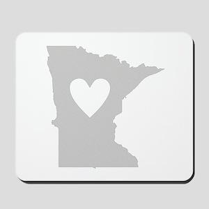 Heart Minnesota Mousepad