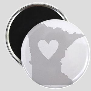 Heart Minnesota Magnet